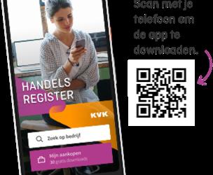 Apps van de kamer van Koophandel voor beter ondernemen